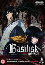 Basilisk Complete Series Collection DVD New & Sealed ANIME Region 2 Manga