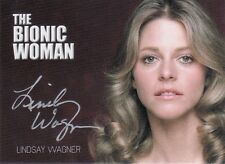 Complete Bionic Collection Linsay Wagner / Bionic Woman Silver Auto Card