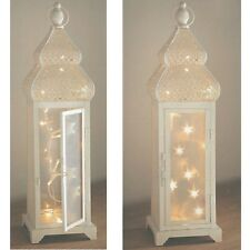 SHABBY Chic Stile Marocchino 20 LED String Lantern LIGHTS 47 cm Tall