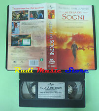 film VHS AL DI LA' DEI SOGNI 1999 Robin Williams Vincent Ward (F3 * ) no dvd