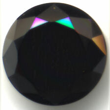 Round Cut  Black 6mm Loose Gemstones