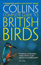 Collins Complete Guide to British Birds A Photographic Guide by Paul Sterry NEW