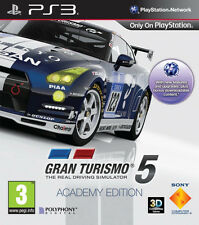 Gran Turismo 5 Academy Edition PS3 *in Excellent Condition*