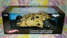 Batman Dark Knight Rises Camouflage Tumbler 1:18 Scale Hot Wheels Heritage - NEW