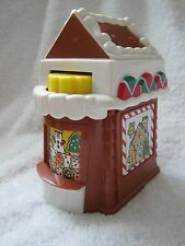 Fisher Price Little People CHRISTMAS BAKERY SHOP Holiday Village Main Street HTF