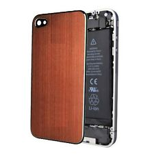 Orange Aluminium Back Screen Replacement Rear Case Cover Assembly for iPhone 4S