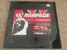 "Rampage - Take it to the Streets/Wild for Da Night 12"" Vinyl Single"