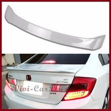 PAINTED 2012 2013 Honda Civic 9 Gen DX EX LX 4DR M Type Lips Trunk Tail Spoiler