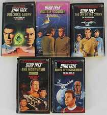 Star Trek 1989-1990 #44-#48 Paperback Lot of 5, 1st Editions