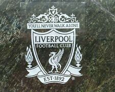 2pc Vehicle FUN decal FC Liverpool Internal Car window Sticker White