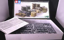 Tamiya Military Miniature series 32510 Jerrycan set kit 1/48 neuf Mint in box