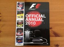 F1 OFFICIAL 2010 ANNUAL