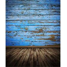 3X5FT Retro Blue Board Photography Background Backdrop Photo Prop For Studio
