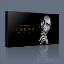 BOB MARLEY No.1 REGGAE MUSIC LEGEND ICONIC CANVAS ART PRINT PICTURE Art Williams