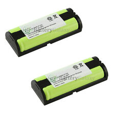 2 Home Phone Battery for Panasonic HHRP105A HHR-P105A