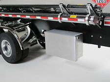 Custom Aluminum Tool Box with Lid for Tamiya 1/14 Semi Trailer Tanker Container