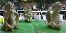 concrete plaster mold 3 latex only molds(3 angel SET)