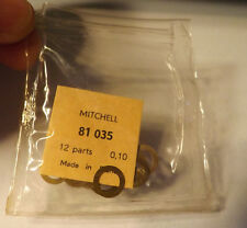 1 PKG OF 12 MITCHELL 300 301 FISHING REEL SHIMS FOR DRIVE GEAR 81035 .10 thick
