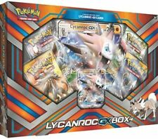Pokemon TCG Lycanroc GX Booster Box Sun and Moon Factory Sealed READY Ships Now