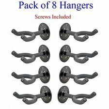 TopStageTM 8-Pack Wall Mount Guitar Rack Hangers Stand Holder Hook 8/Lot GR5-L8