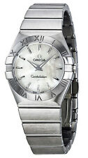 123.10.27.60.05.001 | OMEGA CONSTELLATION | BRAND NEW 27 MM STEEL WOMEN'S WATCH