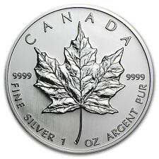 2005 1 oz Silver Canadian Maple Leaf Coin - Brilliant Uncirculated - SKU #11163