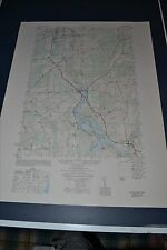 1940's Army topographic map Colton NY Sheet 6073 III SW Raquette River