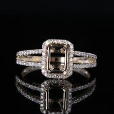 10K YELLOW GOLD SEMI-MOUNT SETTING ENGAGEMENT WEDDING DIAMOND RING JEWELRY