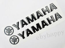 Black 145mm Fairing Gas Tank Custom Emblem Decal Stickers For YAMAHA Motorcycles
