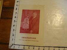 Vintage MARIONETTE Paper: INVITATION paul brann w/ Zerbina early brochure