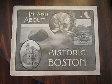 In and About Historic Boston 1904 L. H. Nelson Company Illustrated