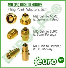 LPG Autogas All Filling Point Adapter Set From Europe To UK