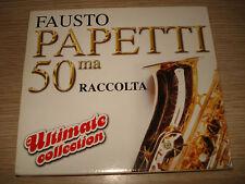 CD FAUSTO PAPETTI 50ma RACCOLTA ULTIMATE COLLECTION