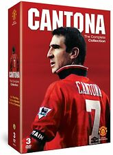 NEW! Eric Cantona The Complete Collection 3 DVD set Manchester United Man Utd