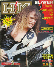 HM 18 1987 Slayer Wendy Williams Poison Queensrÿche FM Astaroth Thin Lizzy