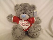 "Small Me to You Tatty Teddy 9"" high ""I Love You This Much"" With Story Booklet"