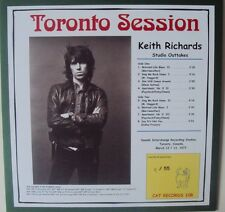 Rolling Stones  Keith Richards Toronto Session  LP  Red Cover