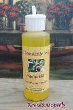 JOJOBA OIL 4 OZ 100% PURE CARRIER ANTI-OXIDANT SKIN HEAL ANTI-BACTERIAL MASSAGE