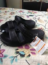 crocs yukon men's two strap sandals black size Uk 6, 8, 9, 10, 11.