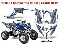 AMR RACING DEKOR GRAPHIC KIT ATV YAMAHA RAPTOR 125/250/350/660/700 DEADEN B