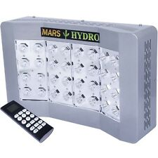 Mars Hydro Pro Cree 128 LED Grow Light Factory Direct 2017 Lights !