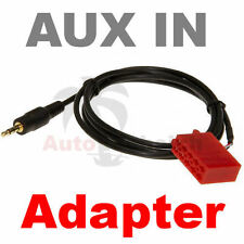 Aux Line In Adapter Kabel Radio Blaupunkt 10 Pol ISO AUX 2 iPod iPhone Klinke