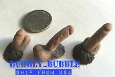 3 x 1/6 Male Genitals For 1/6 Male Figure Phicen PL2016-M31 PL2015-M30 ☆USA☆
