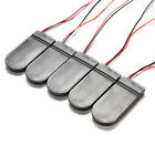 5X DIY CR2032 3V Button Coin Cell Battery Holder Case Box With On-Off Switch WB