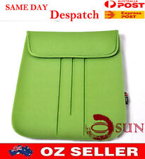 New 11.6 12.1 12 12 4 inch Green Laptop Sleeve Case Pouch COVER Macbook Pro Air