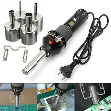 450W 450℃ LCD Electronic Heat Hot Air Desoldering Soldering Station + Nozzle Kit