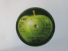 "RINGO STARR IT DON'T COME EASY (1970s POP ROCK) VINYL 7"" 45RPM"