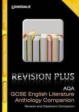 Lonsdale GCSE Revision Plus Anthology Companion,- AQA English Literature Lit