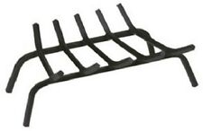 "23"" Black Wrought Iron Fireplace Grate - New"