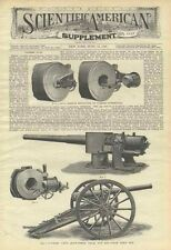 1898 Vickers Machine Guns 6 inch Naval Gun 12 Pound 3 Inch Field Gun Illustrated